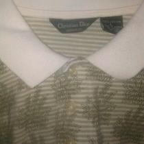 Gorgeous Christian Dior Monsieur Polo Shirt Large Mens Photo