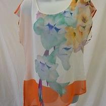 Gorgeous Clover Canyon Floral Blouse Size Xs  Photo