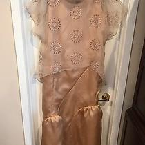 Gorgeous Custom Design One of a Kind Hand Made Blush Champagne Gown Sz 14-16 Photo