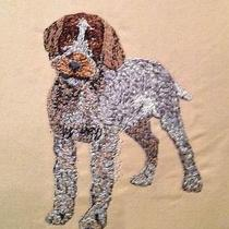 Gorgeous Custom Emroidered  Wirehaired Pointing Griffon Tote Photo
