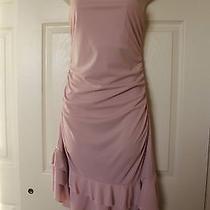 Gorgeous Dress by Express Asymmetric Hem Soft Pink Dance Party Prom Club Sz 10 M Photo
