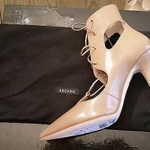 Gorgeous Escada Lace Up High Heel Shoes Photo