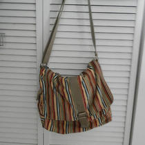 Gorgeous Fossil Messenger Bag or Cross Body Beautiful Colors  Photo