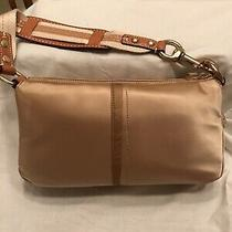 Gorgeous Gold Satin Vintage Coach Small Hobo Bag- Brand New With Tags Photo