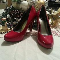 Gorgeous Guess Red Shoes Photo