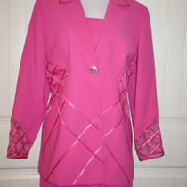 Gorgeous Hot Pink 2 Piece Formal Dress Mother of the Bride Special Detailing 16  Photo