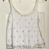 Gorgeous Juniors Express Gold Bling Cami Tank Top  Sz Xs Photo