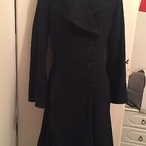 Gorgeous Ladies Topshop Vintage Wool Warm Coat Size 8.vgc Photo