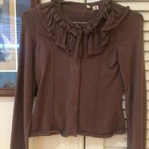 Gorgeous Light Brown Anthropologie Moth Top Size Xs Photo