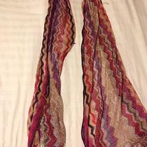 Gorgeous Multicolor Missoni Scarf Photo