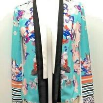 Gorgeous Nwot Clover Canyon Floral Jacket Blazer Small  Photo
