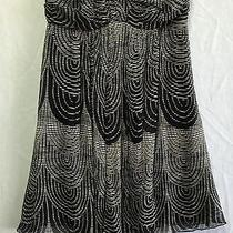 Gorgeous Patterned Strapless Empire Waist Dress W/ Silky Lining by Express (0) Photo