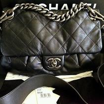 Gorgeous Rare Chanel Coco Pleats Messenger  Flap Bag Bnib Photo
