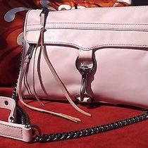 Gorgeousrebecca Minkoff Big Mac Clutch Crossbody Bag Messenger Light Pink Photo