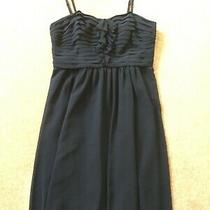 Gorgeous Special Occasion Dress - Navy Size 16 Excellent Condition Photo