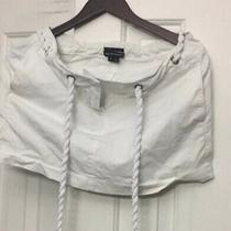 Gorgeous Theory Bergdorf Goodman Sailer Rope White Skirt Photo