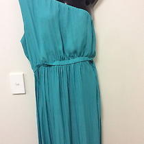 Gorgeous Trendy One Arm Green Maxi Dress From Zara Size Large Photo