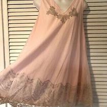 Gorgeous Vtg 50s Blush Pink Silky Nylon Chiffon Lace Baby Doll Nightgown Sm Photo