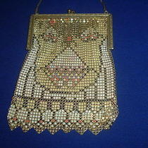 Gorgeous  Whiting  Davis  Mesh  Antique  Purse Photo