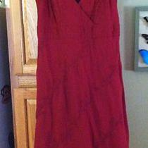 Gorgeous Womens Gap Embroidered  Spring Summer Cotton Dress Sz 8 Photo