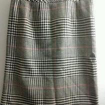Gorgeous Wool Talbots Multicolor Plaid Pencil Skirt  Womens 12 Petite Usa Photo