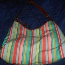 Gorgeouse Fossil Bright Colored Med Size Purse Very Clean Never Used Very Nice Photo