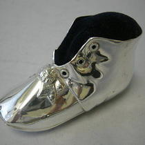 Gorham Pin Cushion - Baby Booty - Shoe - American Sterling Silver  Photo