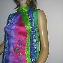 Gottex Cover Up Caftan Dress With Matching Swimsuit Photo