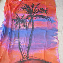 Gottex Cover-Up Sarong Wrap 100% Silk Os  198 Photo