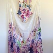 Gottex Flower Stem Swimsuit 6 and Sarong Wrap Photo