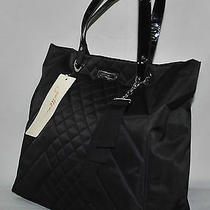 Gottex Quilted Computer Tote Black - New Photo