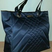Gottex Quilted Computer Tote Black - New Without Tags Photo