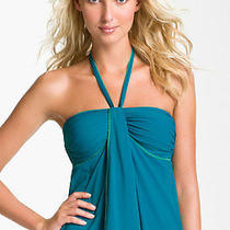 Gottex 'Ray of Light' Halter Tankini Top in Teal - 6 Photo