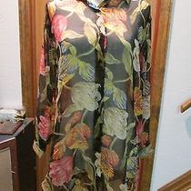 Gottex Silk Swimsuit Coverup Size S Photo