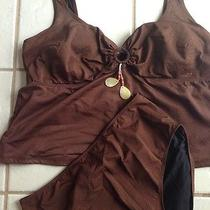 Gottex Swimsuit Tankini 18w Photo