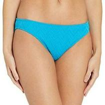 Gottex Women's Textured Classic Mid Rise Swimsuit Jazz Turquoise Size 8.0 Rcft Photo