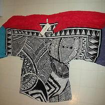 Gottex Zanzibar 100% Silk Tunic Sarong Sz Small Nwt 248.00  Photo