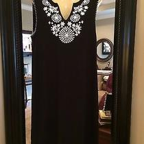 Grace Element - Black & White Sundress Dress/cover Up Size Xl Exc Photo