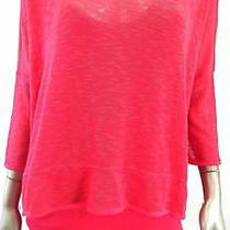 Grace Elements 2pc Misses Womens Knit Pullover Sweater Sz M Rose Solid Sale Us Photo