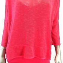 Grace Elements 2pc Misses Womens Knit Pullover Sweater Sz M Rose Solid Sale Us Photo