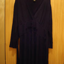 Grace Elements Black Long Sleeve Dress Size M  Photo