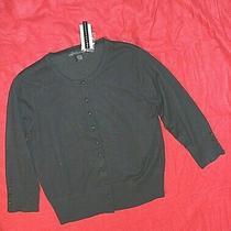Grace Elements Black Size L/12 Retail 58 3/4 Sleeve Sweater  Photo