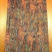 Grace Elements Breezy Maxi Skirt Animal Print 2x Plus Nwt Photo