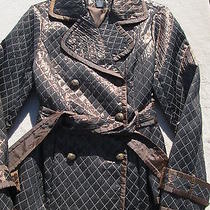 Grace Elements Bronze Blazer/jacket Misses Size S Euc Photo