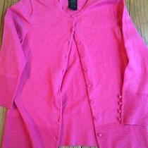Grace Elements Cardigan Pink Medium Euc Photo