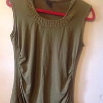 Grace Elements Cute Olive Green Soft Studded Tank Medium Photo