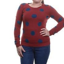 Grace Elements Embellished Polka-Dot Sweater Size Xs Photo