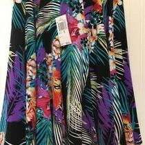 Grace Elements Floral Women's Skirt Nwt Size Xs.  Photo