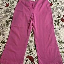 Grace Elements Hot Pink Capri Pants Size 12 Photo