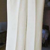 Grace Elements Ivory White Dress Pants Slacks Trousers 8 Petite Photo